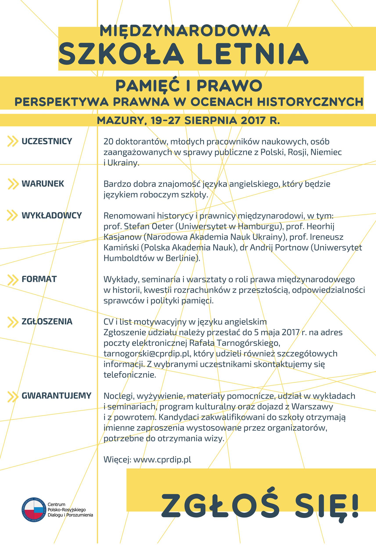 Fundacja Współpracy Polsko Niemieckiej Kalendarium